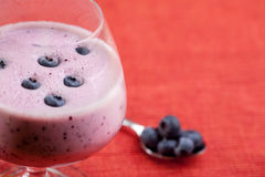 Blueberry Drink Royalty Free Stock Image