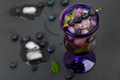 Blueberry Drink Stock Photos