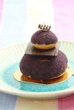 Blueberry fancy cake Stock Image