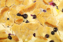 Blueberry french toast background Royalty Free Stock Images
