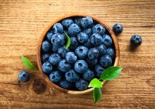 blueberry fresh Στοκ Εικόνα