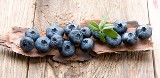 Blueberry healthy eating. Royalty Free Stock Photos