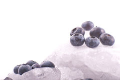 Blueberry Ice Royalty Free Stock Photo