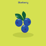 Blueberry icon. Vector illustration Royalty Free Stock Photography