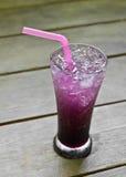 Blueberry italian soda Royalty Free Stock Photo