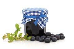 Blueberry Jam stock images