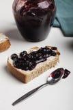 Blueberry jam Royalty Free Stock Image