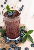 Blueberry Juice Stock Photography