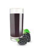 Blueberry juice Royalty Free Stock Image