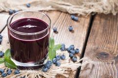 Blueberry Juice Stock Image