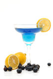 Blueberry lemonade drink Stock Photo