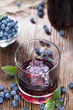 Blueberry Liqueur Stock Photography