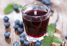 Blueberry Liqueur Stock Images