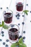Blueberry Liqueur Royalty Free Stock Photo