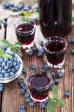Blueberry Liqueur Stock Image