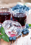 Blueberry Liqueur Shot Royalty Free Stock Photo