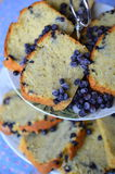 Blueberry loaf cake Stock Photo