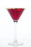 Blueberry Martini Royalty Free Stock Image