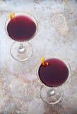 Blueberry Martini Stock Photo