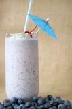 Blueberry Milkshake Royalty Free Stock Photography