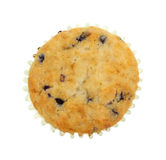 Blueberry Muffin Overhead View Royalty Free Stock Image