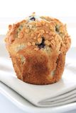 Blueberry muffins on white background Royalty Free Stock Photography