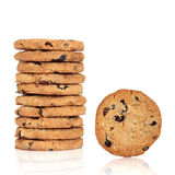 Blueberry and Oat Cookies Royalty Free Stock Images