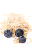 Blueberry oats stock photography