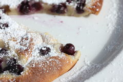 Blueberry pancake 4 Royalty Free Stock Photography
