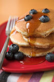 Blueberry pancakes Stock Image