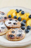 Blueberry Pancakes Stock Images