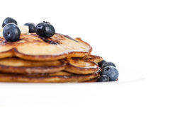 Blueberry Pancakes Royalty Free Stock Photo