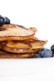 Blueberry Pancakes Royalty Free Stock Photos