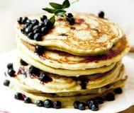 Blueberry Pancakes Royalty Free Stock Photo