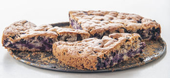 Blueberry pastry Royalty Free Stock Photos