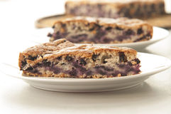 Blueberry pastry Royalty Free Stock Photography