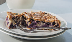 Blueberry pastry Royalty Free Stock Image