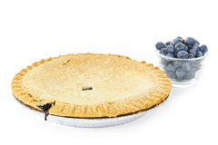 Blueberry pie Royalty Free Stock Photo