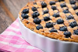 Blueberry pie Royalty Free Stock Photography