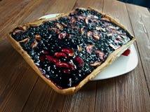 Blueberry pie Royalty Free Stock Photos