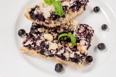 Blueberry pie Stock Photography
