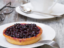 Blueberry Pie Dessert Royalty Free Stock Photography