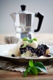 Blueberry pie Royalty Free Stock Photo