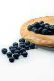 Blueberry pie. Image of a blueberry pie Stock Photo
