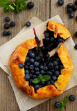 Blueberry pie. Royalty Free Stock Image