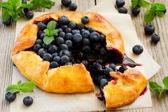 Blueberry pie. Stock Photo