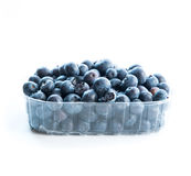 Blueberry in a plastic pack Royalty Free Stock Photo