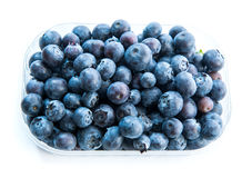 Blueberry in a plastic pack Royalty Free Stock Images