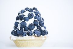Blueberry puff pie Royalty Free Stock Images