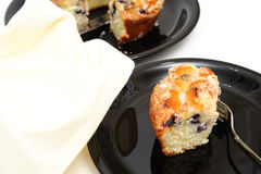 Blueberry Ring Cake Royalty Free Stock Images